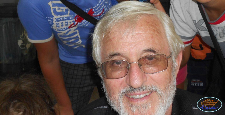 Il compianto Padre Ilarino, con il gruppo di Jesi 2015