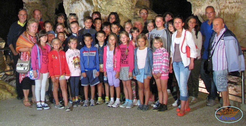 2016 - I gruppi Morro d'Alba e Urbisaglia alle grotte di Frasassi